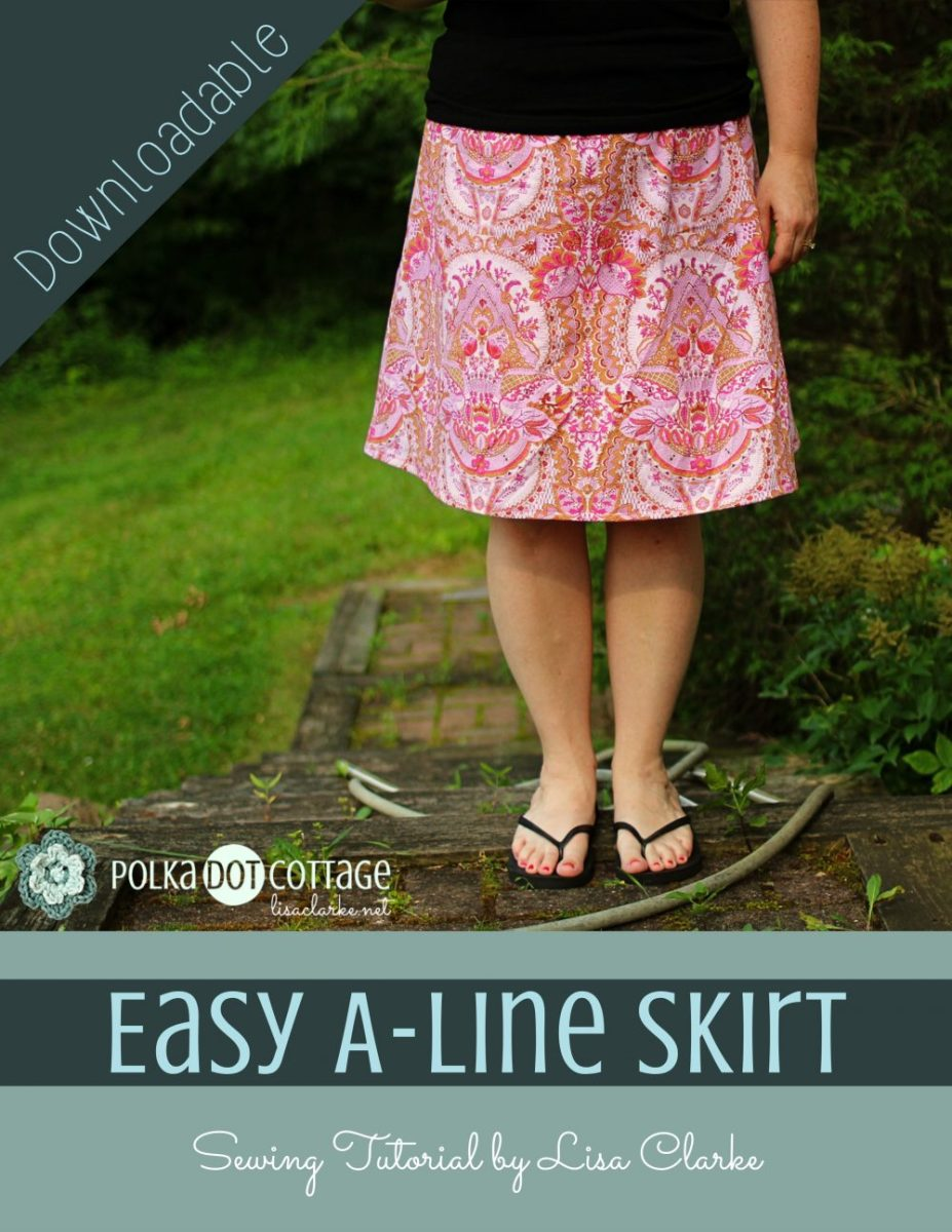 Easy A-Line Skirt Sewing Pattern